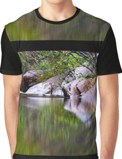 Blue Pool Reflections I Graphic T-Shirt