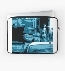 Busy Street Scene Laptop Sleeve