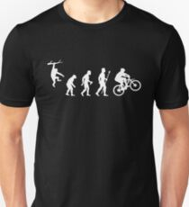 Funny Mountain Biking Evolution T-Shirt