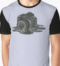 Camera Melt Graphic T-Shirt
