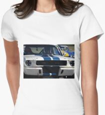 1966 Shelby Mustang GT350  Womens Fitted T-Shirt