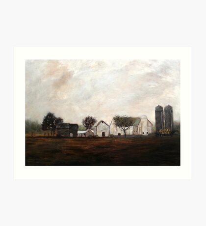 Verdant View Farm and B & B Art Print