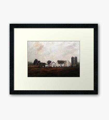 Verdant View Farm and B & B Framed Print