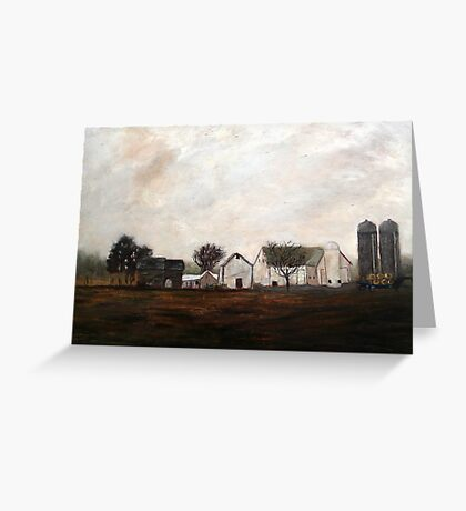 Verdant View Farm and B & B Greeting Card