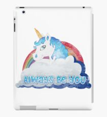 Central Intelligence - Unicorn (Faded as worn in the film) Bob Stone iPad Case/Skin