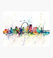 St Louis Missouri Skyline Photographic Print