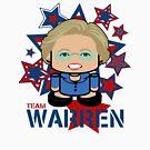 Team Warren Politico'bot Toy Robot by Carbon-Fibre Media