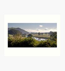 The River Lune Art Print
