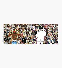 Biggie Tupac Photographic Print