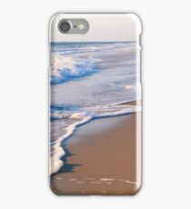 Surf on the beach, the Outer Banks iPhone Case/Skin