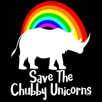 Save The Chubby Unicorns  by Ricaso