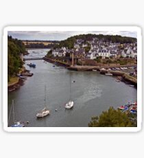 Le Bono Fishing Village and the Old Bridge Sticker