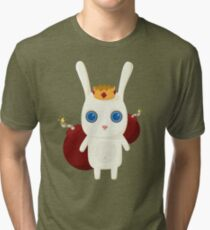 King Rabbit - Bombs! Tri-blend T-Shirt
