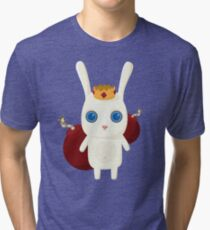 King Rabbit - Bombs! Tri-blend T-Shirt