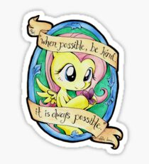 Kindness is Always Possible Sticker