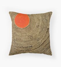 Sun Valley original painting Throw Pillow