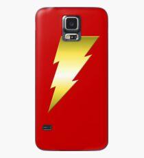Golden Thunderbolt Case/Skin for Samsung Galaxy