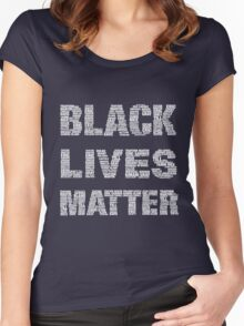 Black Lives Matter Women's Fitted Scoop T-Shirt