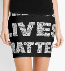 Black Lives Matter Mini Skirt