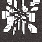 Cube field by Ezra Webb