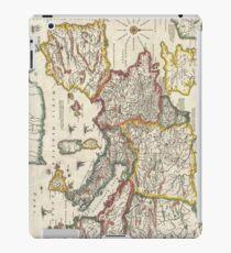 Vintage Map of Europe (1657) iPad Case/Skin
