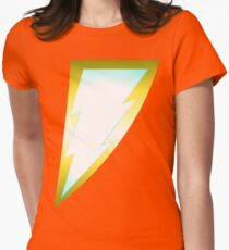 New Thunderbolt Womens Fitted T-Shirt