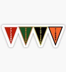 Tribal Teams Row Sticker