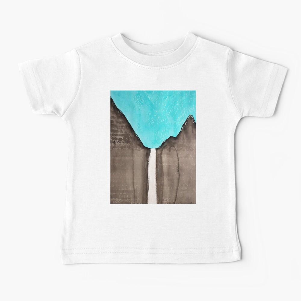 Original Gemälde von Bridalveil Fall Baby T-Shirt