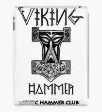 Viking Hammer - Thor's Hammer Design iPad Case/Skin