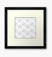 Architect - Grey Framed Print