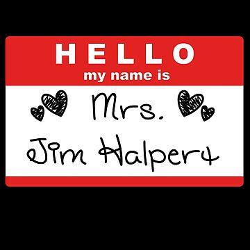 Mrs. Jim Halpert by Braelove
