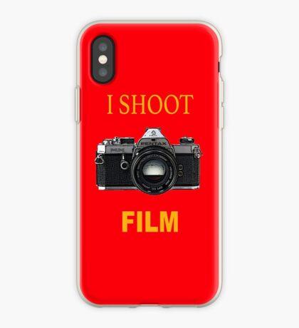 Disparo de cine Vinilo o funda para iPhone