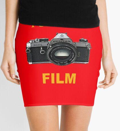 Disparo de cine Minifalda