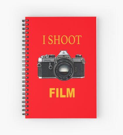 Disparo de cine Cuaderno de espiral