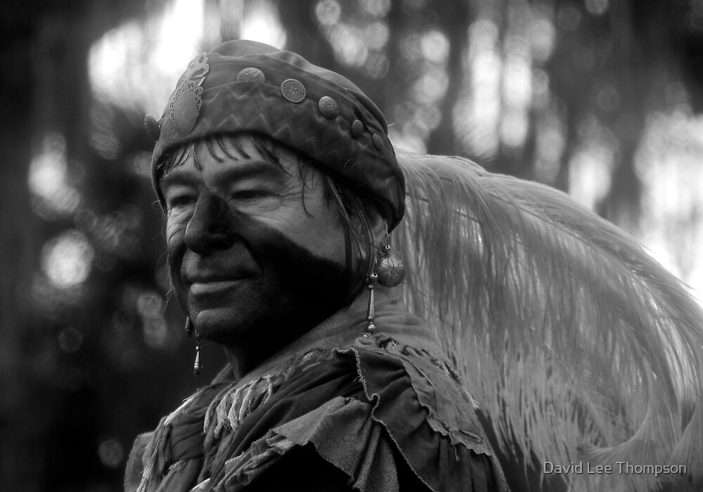 Feathered Warrior by David Lee Thompson