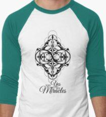 Say Yes to Miracles Men's Baseball ¾ T-Shirt