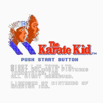The Karate Kid by martyrofevil