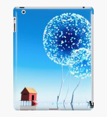 Small house and magical trees. iPad Case/Skin