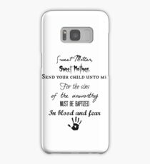Skyrim Dark Brotherhood Black Sacrament  Samsung Galaxy Case/Skin