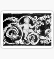 Old Ybor City Tile  Sticker