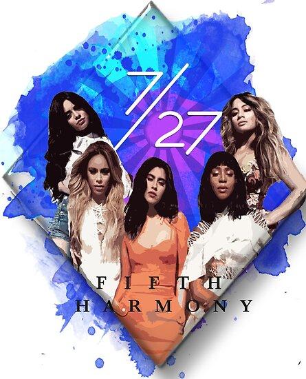 Fifth Harmony 7/27 Blue by Lawregi
