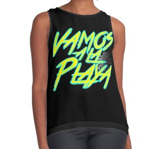 Quot Vamos A La Playa Quot Stickers By Sparro Redbubble