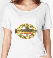 Humorous Fishing Women's Relaxed Fit T-Shirt