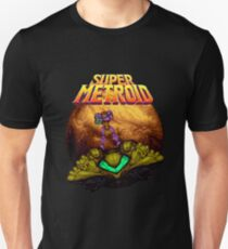 Super Metroid - Samus leaving Zebes T-Shirt