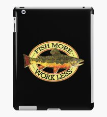 Humorous Fishing iPad Case/Skin