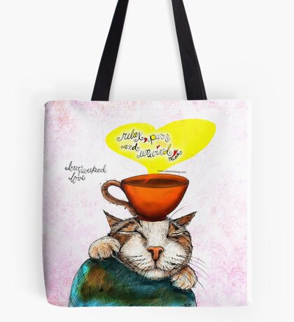 What my #Coffee says to me May 21, 2016 Tote Bag