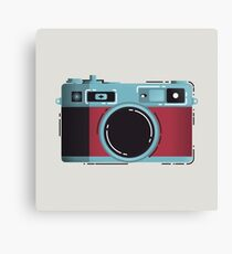 Little Yashica Canvas Print