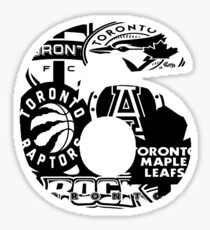 TO Sports inTOthe6 Sticker