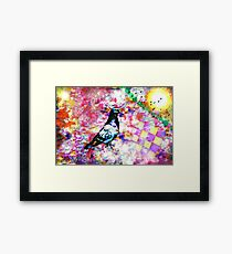 The colors of my dream (What do you see in the colors of your dreams?) Framed Print