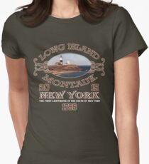 montauk point Women's Fitted T-Shirt